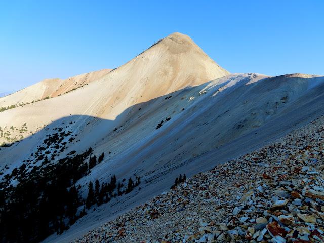First good view of Mount Belknap