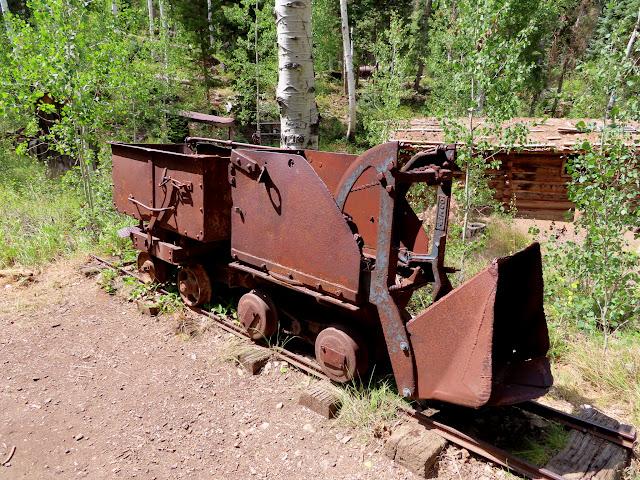 Shovel and ore car