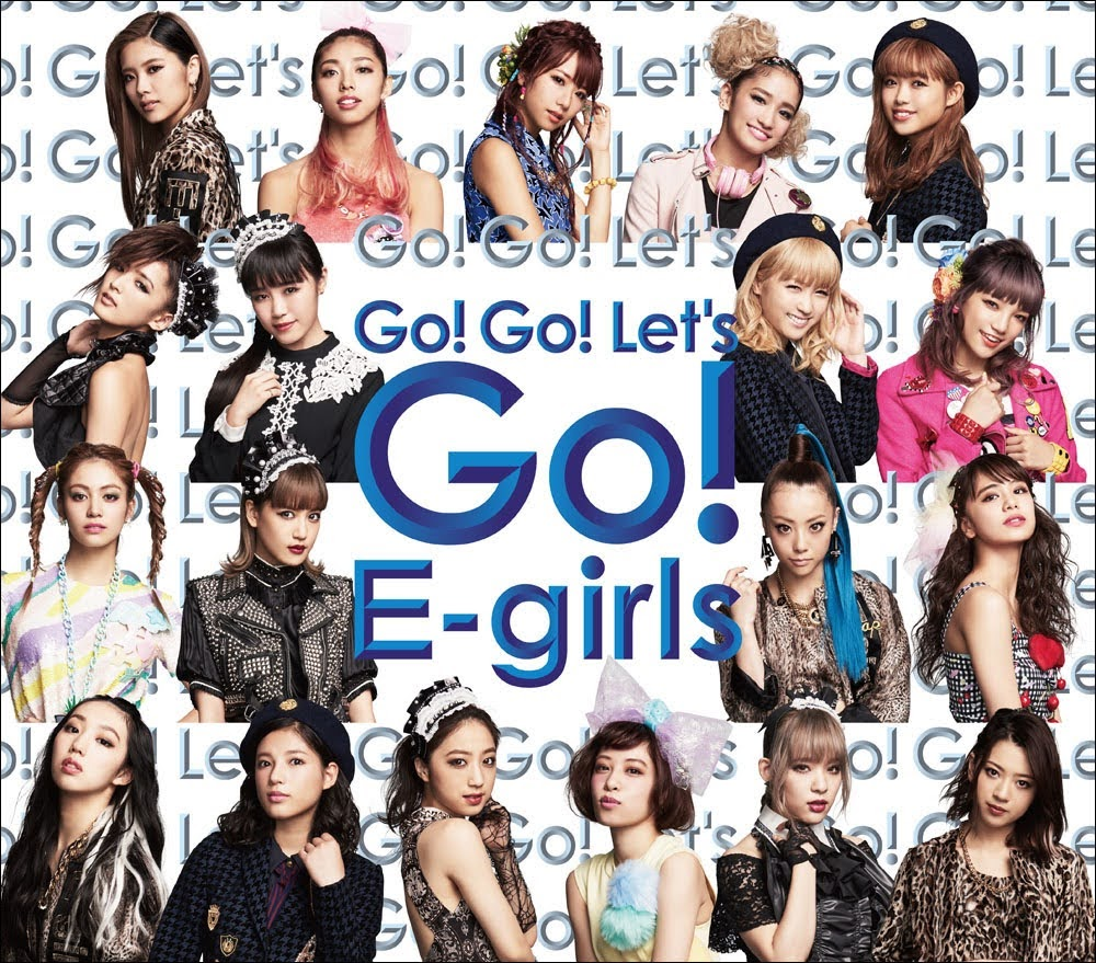 "Capa do single ""Go! Go! Let's Go!"" – One Coin CD Edition."