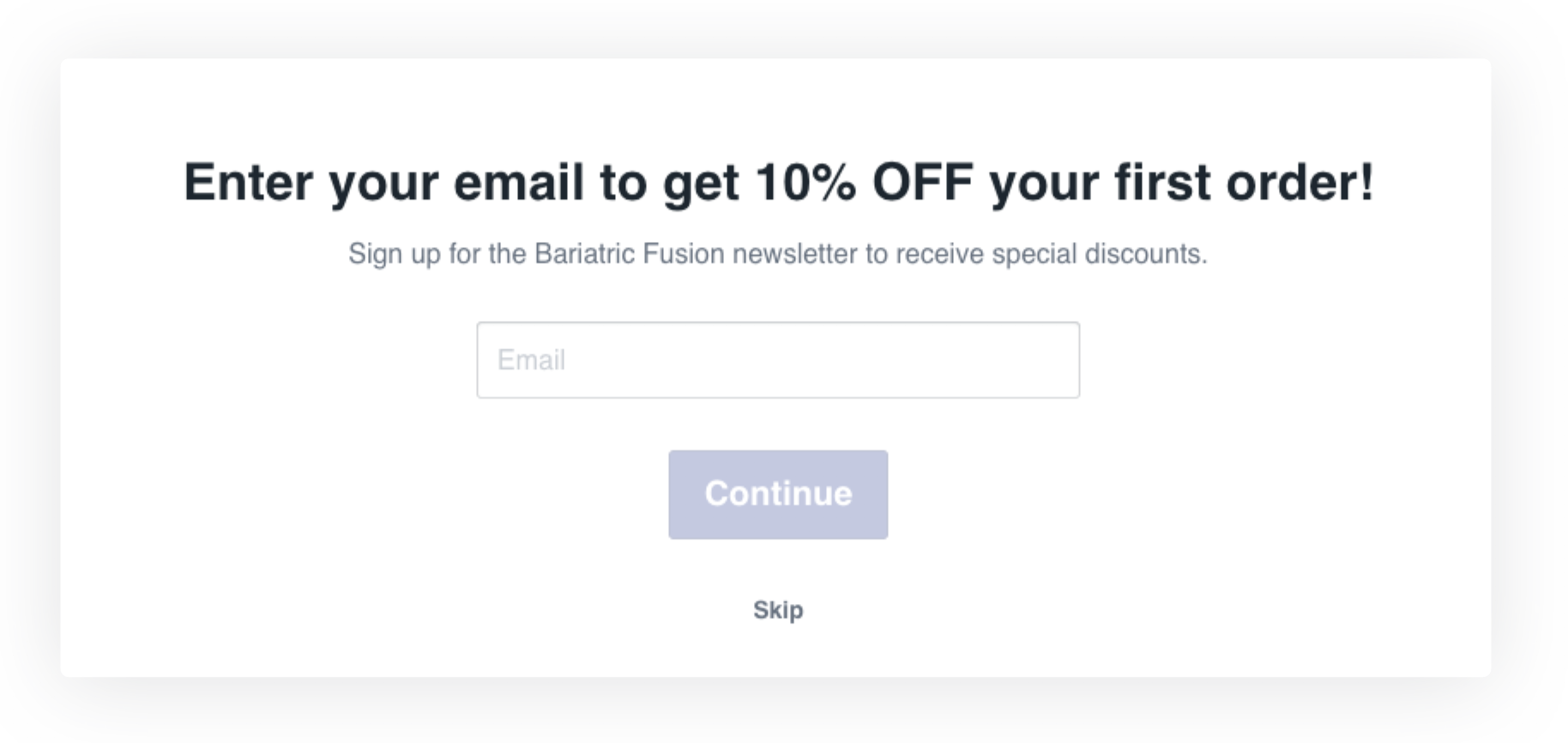 Use Shoppable Quizzes for email, Facebook Messenger, and SMS opt-ins