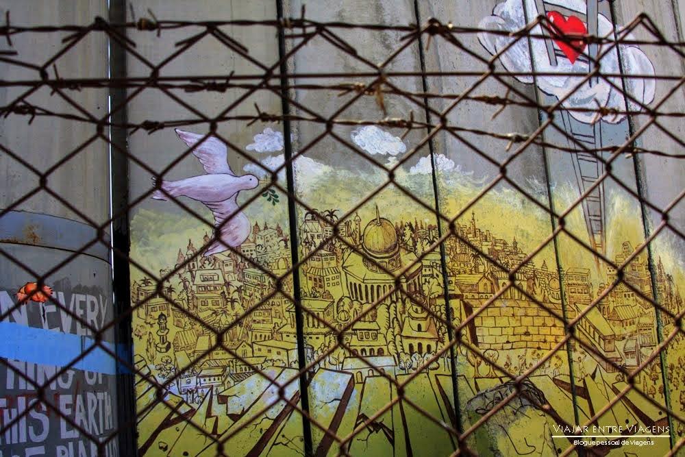BELÉM - PALESTINA | Um campo de refugiados onde Jesus nasceu