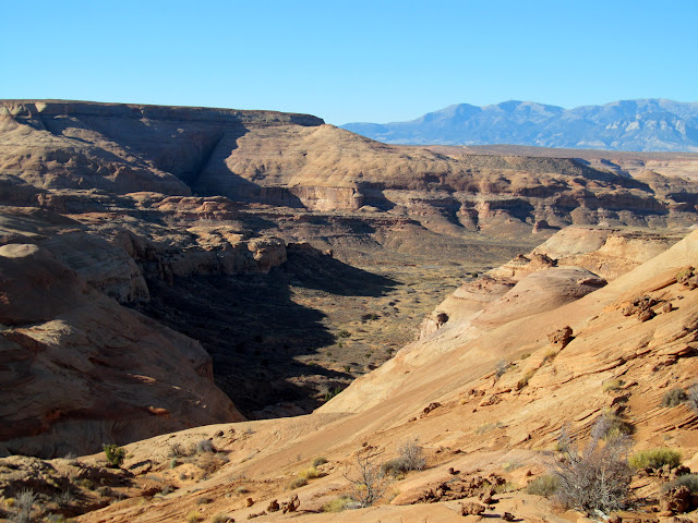 One of the Bull Pasture canyons
