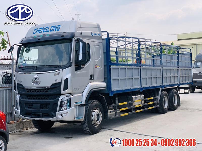 xe tải chenglong 3 chân 14 tấn