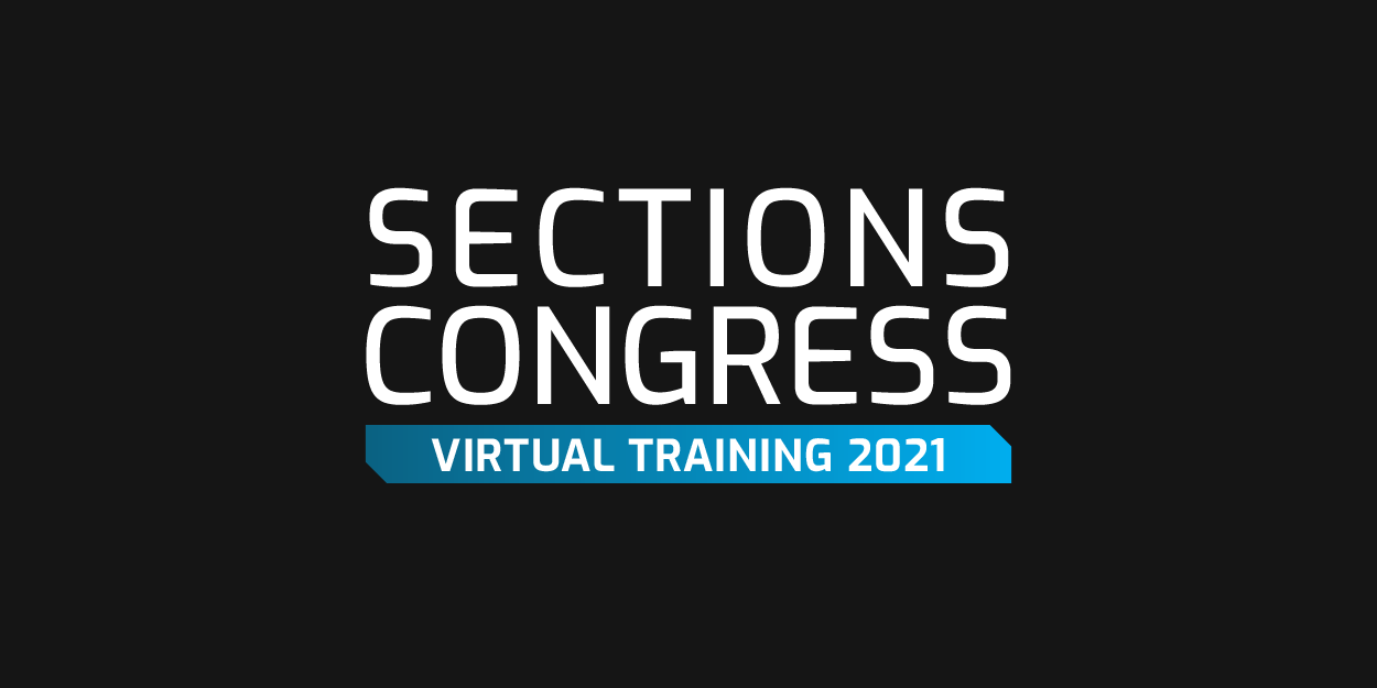 Sections Congress Virtual Training 2021