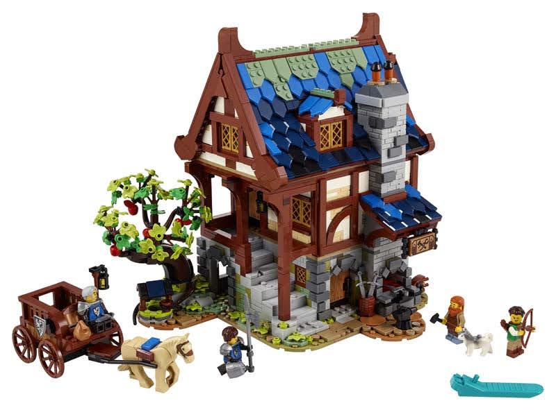 Contenido de LEGO® 21325 Herrería Medieval