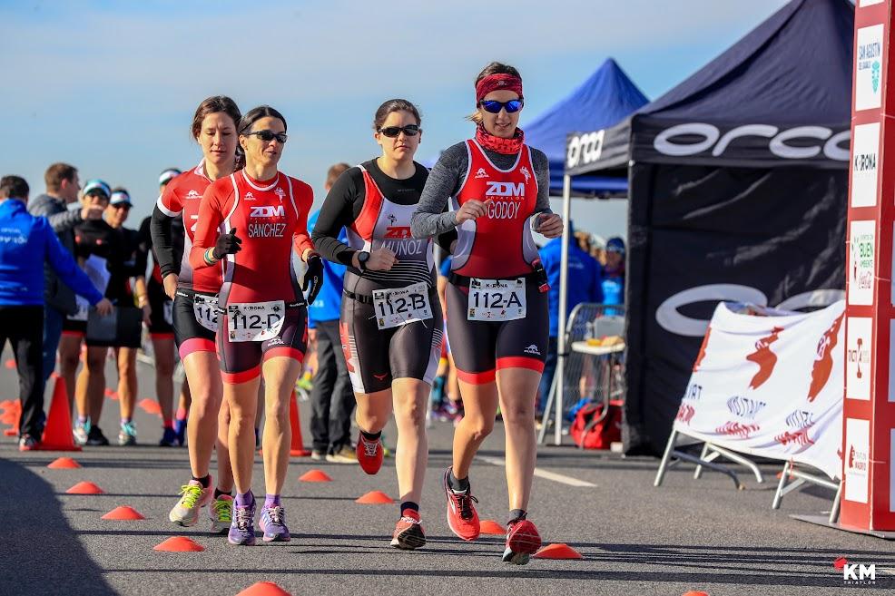 Tú quieres correr más que tus compañeros, y ellos quieren correr más que tú, y eso es genial porque os ayuda a esforzaros a todos