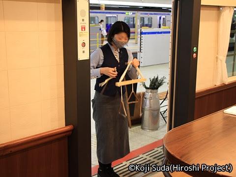 西鉄 6050形改造「THE RAIL KITCHEN CHIKUGO」 福岡(天神)にて_06