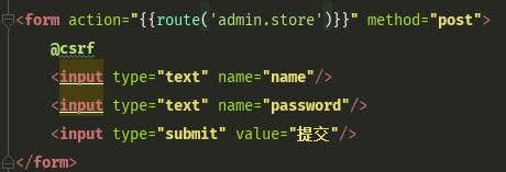 Included @csrf and the correct form method within