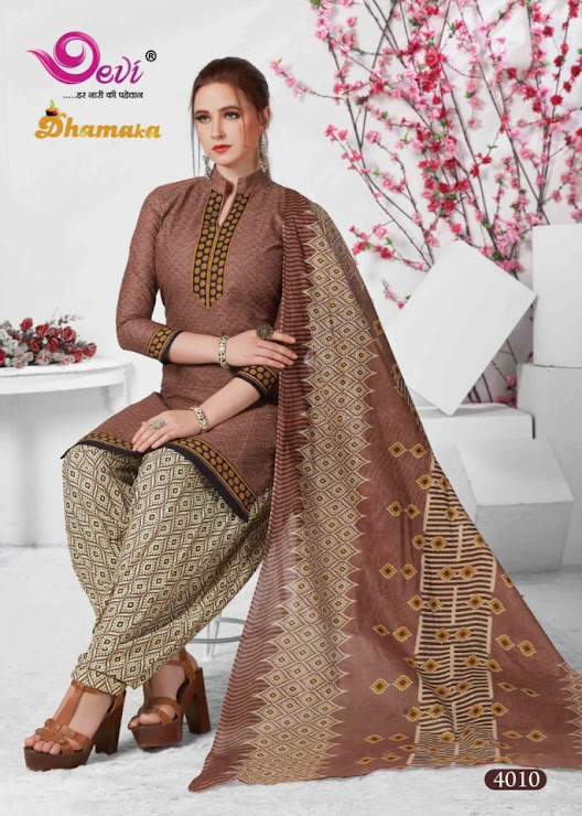 Devi Dhamaka Vol 4 Salwar Suits Catalog Lowest Price