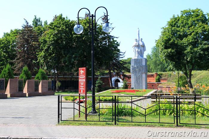 Памятник павшим воинам в Балтийске