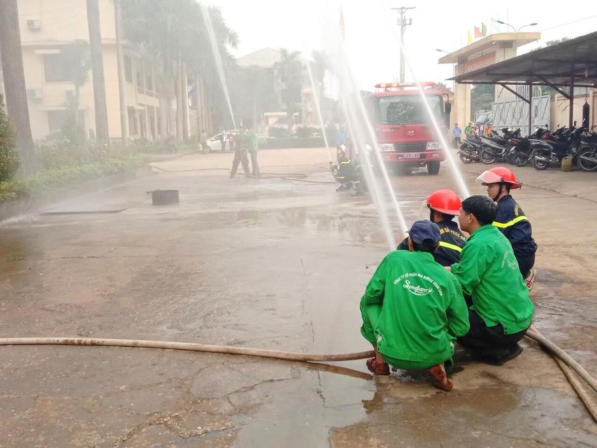 Việc diễn tập thường xuyên sẽ nâng cao ý thức phòng chống cháy nổ của người lao động