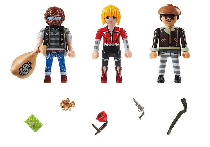 Contenido real de Playmobil® 70670 Set Figuras Ladrones