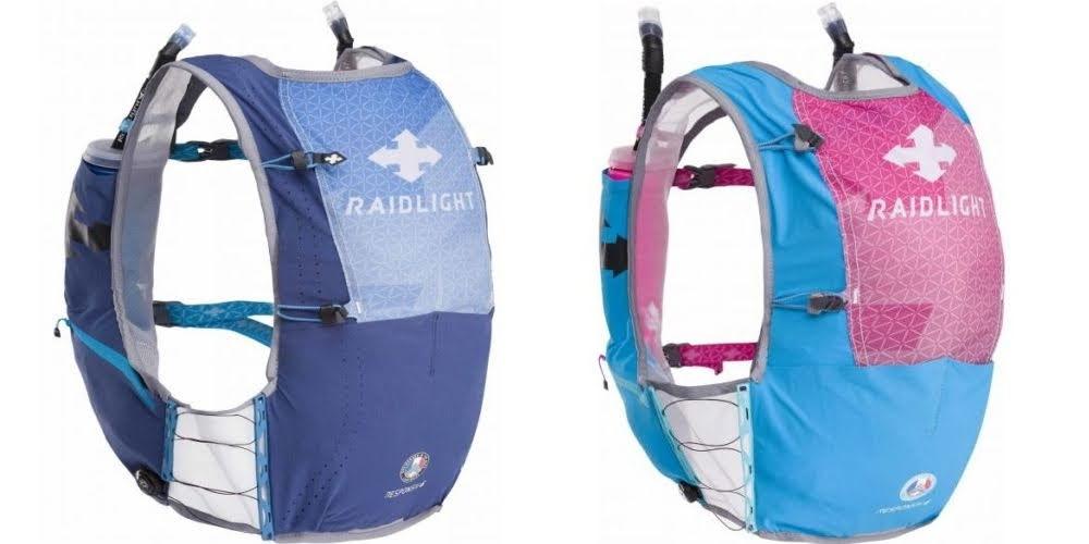 RaidLight Responsiv 6l and 12l backpack