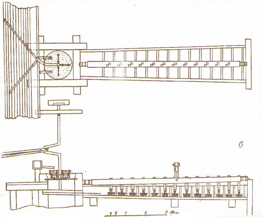 Механизированный промывочный прибор Л.И. Брусницына