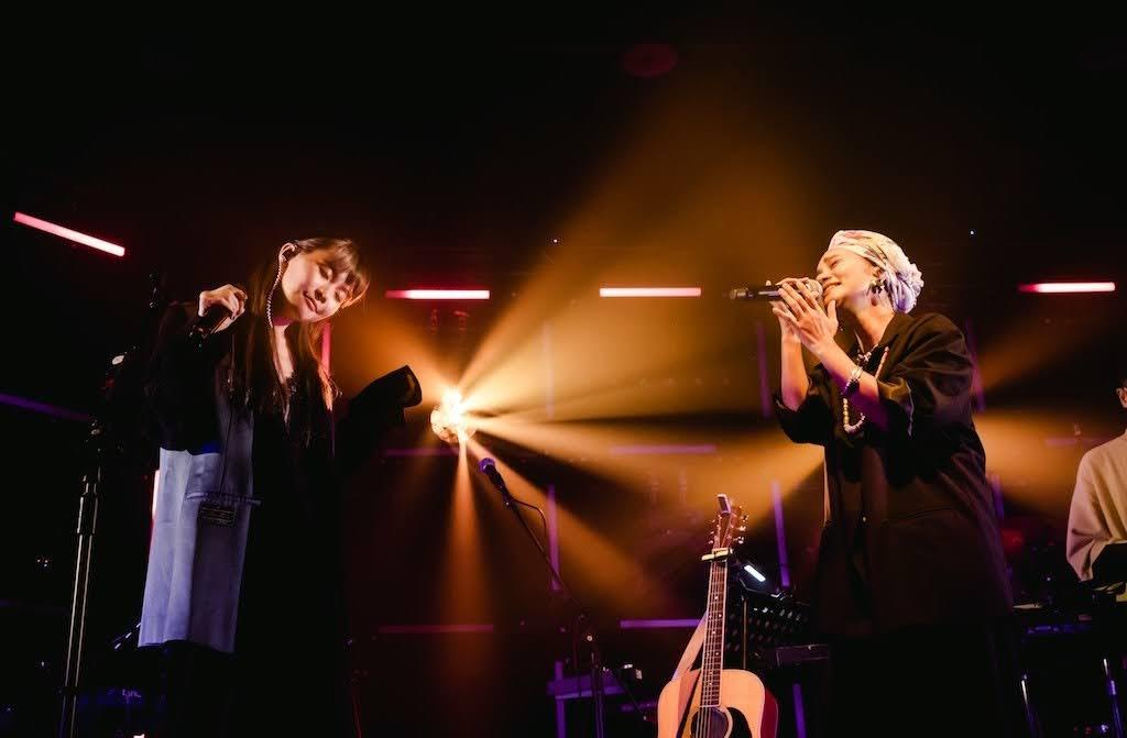 鄭宜農 《 井之聲 #AcousticTour 》台北最終場  阿爆 ( 阿仍仍 ) 獻唱合作曲嚇翻眾人