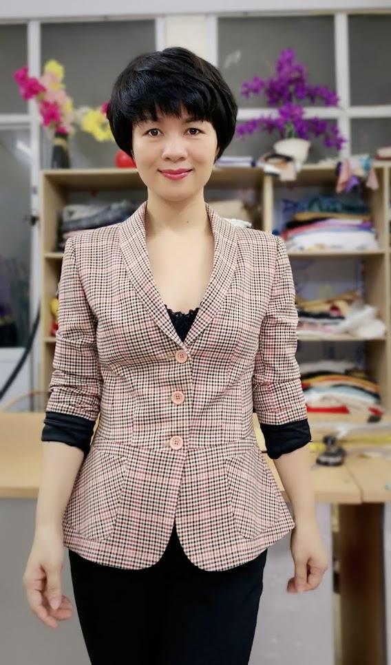 Áo vest nữ công sở kiểu peplum che bụng V739 thời trang thủy đà nẵng