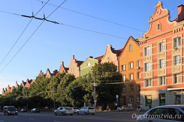 Калининград, дома на Ленинском проспекте