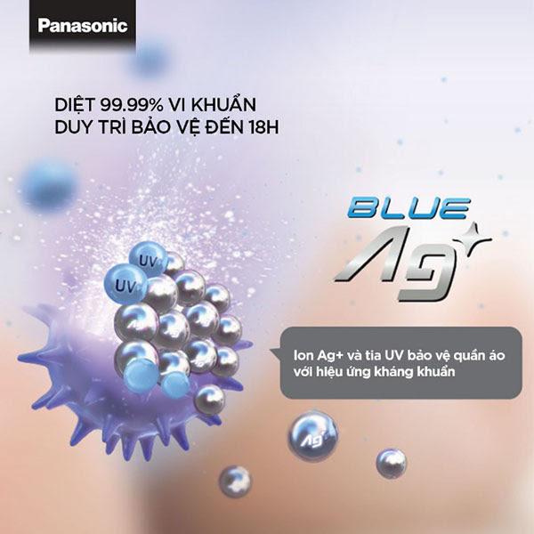 công nghệ giặt nước lạnh Blue Ag+ của máy giặt Panasonic