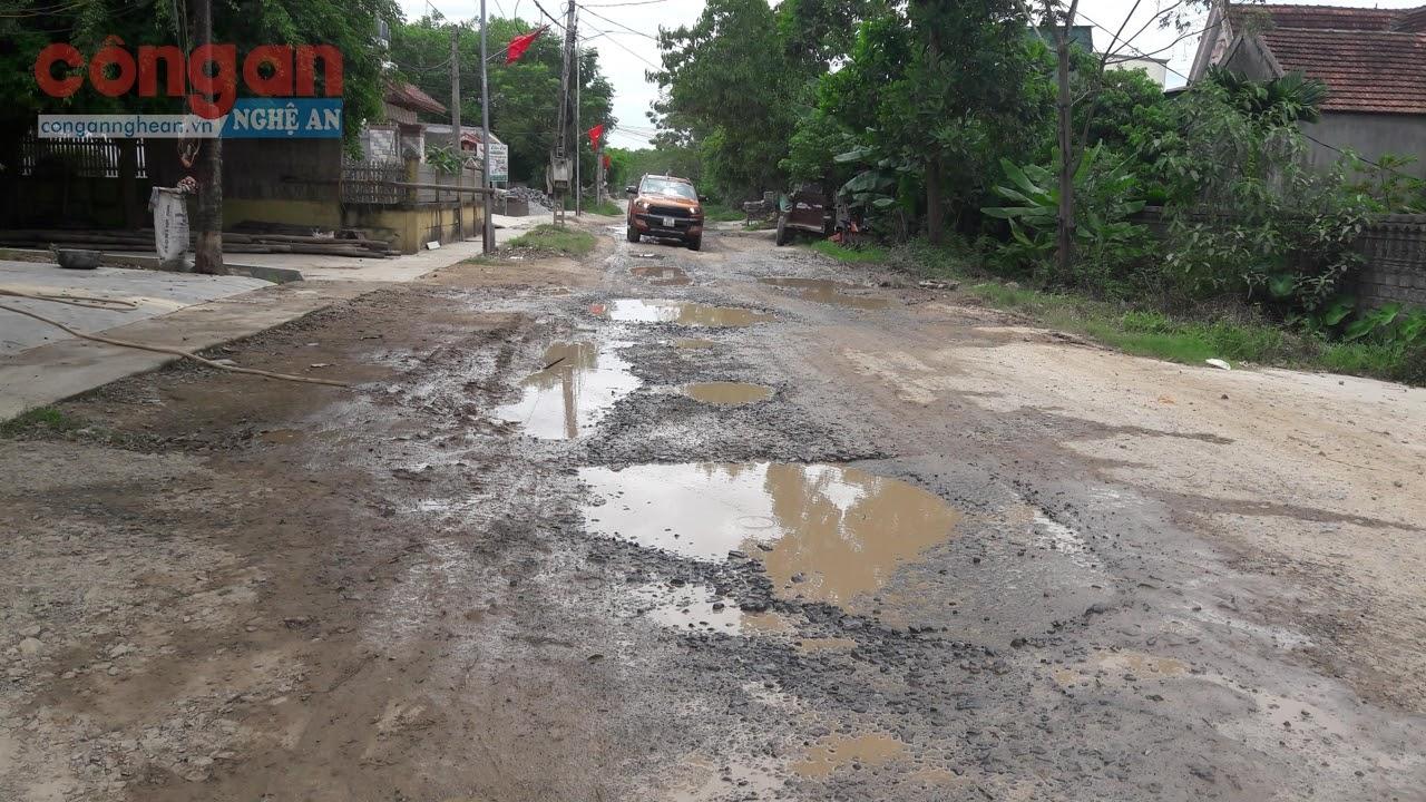Tỉnh lộ 538E bị hư hỏng nhiều năm nay