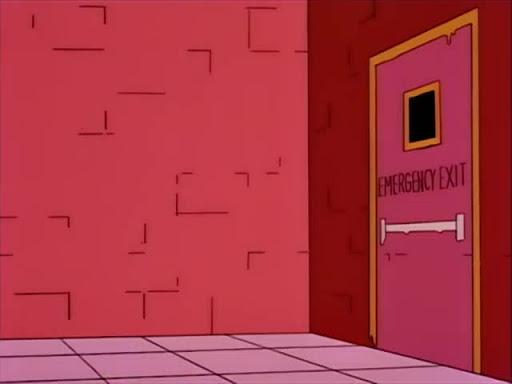 Los Simpsons 5x09 La ultima tentacion de Homero
