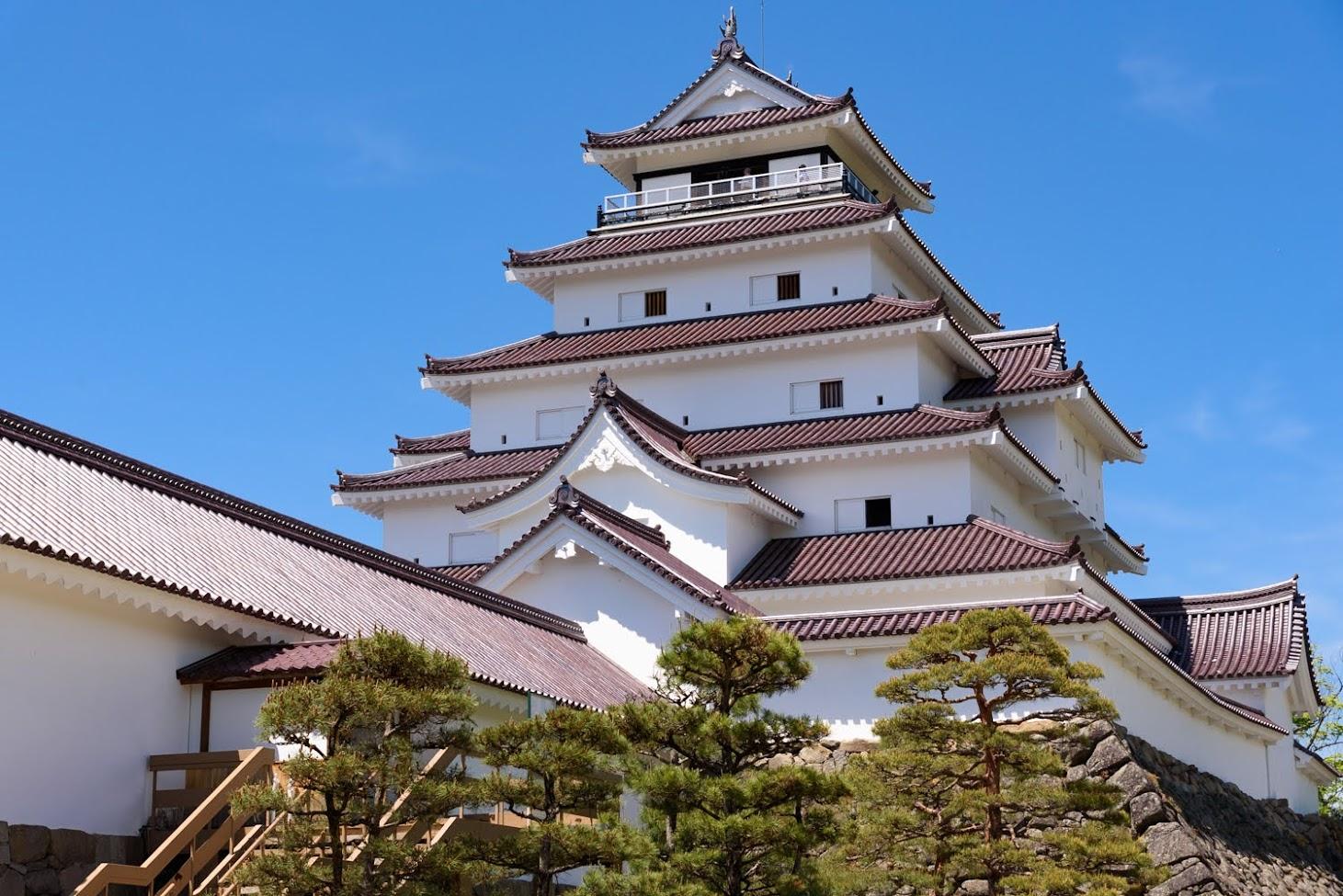 【旅22日目】城下町「会津若松」でさざえ堂(白虎隊)と鶴ヶ城を観光