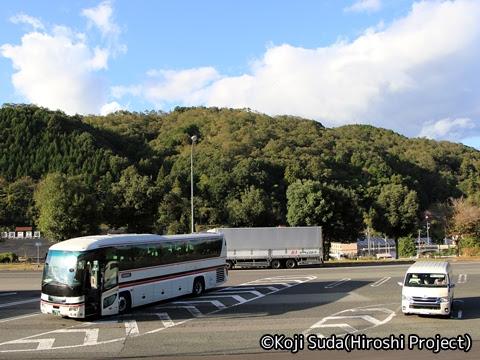 一畑バス「みこと号」 ・781_18 江の川PA_02