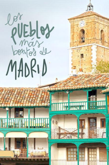 pueblos más bonitos de Madrid