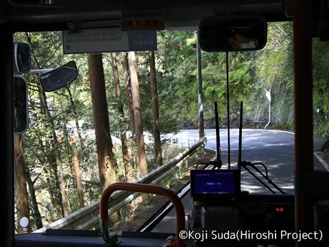奈良交通「八木新宮線」 ・938 十津川温泉→月谷口_01