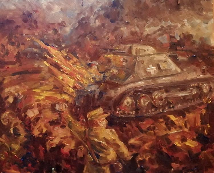 Выставка работ участников регионального молодежного конкурса художественных работ «Память сильнее времени», посвященная Дню разгрома немецко-фашистских войск в Сталинградской битве.