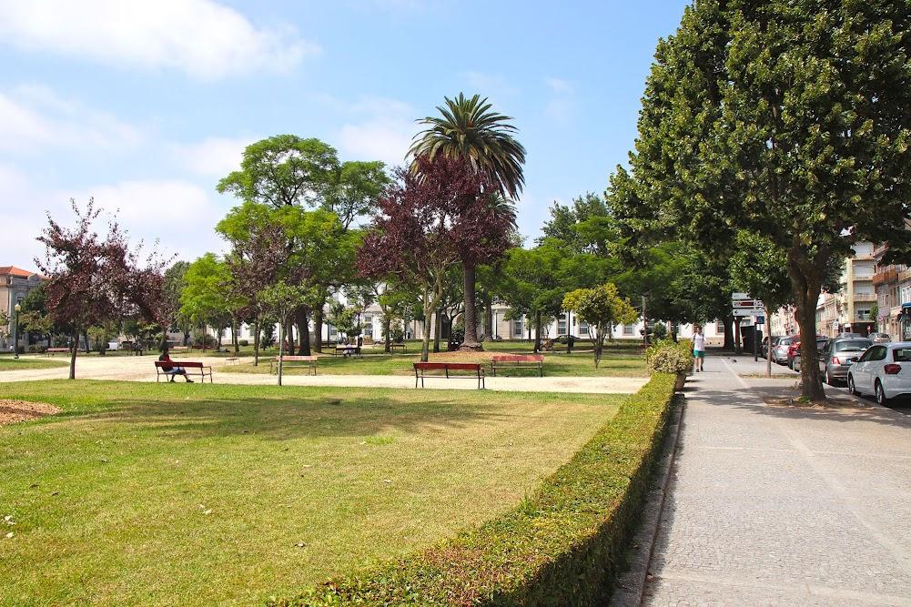 Porto Jardim da Praça da República