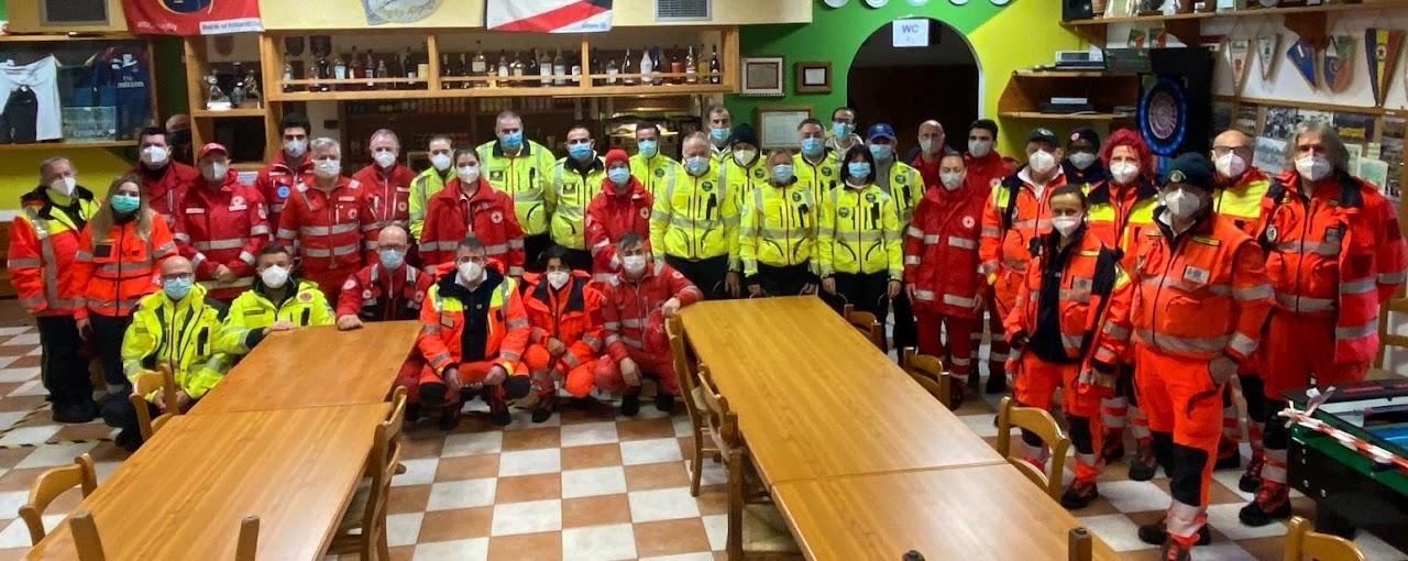 Evacuazione casa riposo Pous d'Alpago 6 dicembre 2020