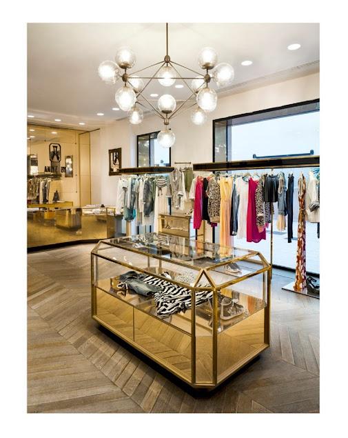 thiết kế shop thời trang cao cấp