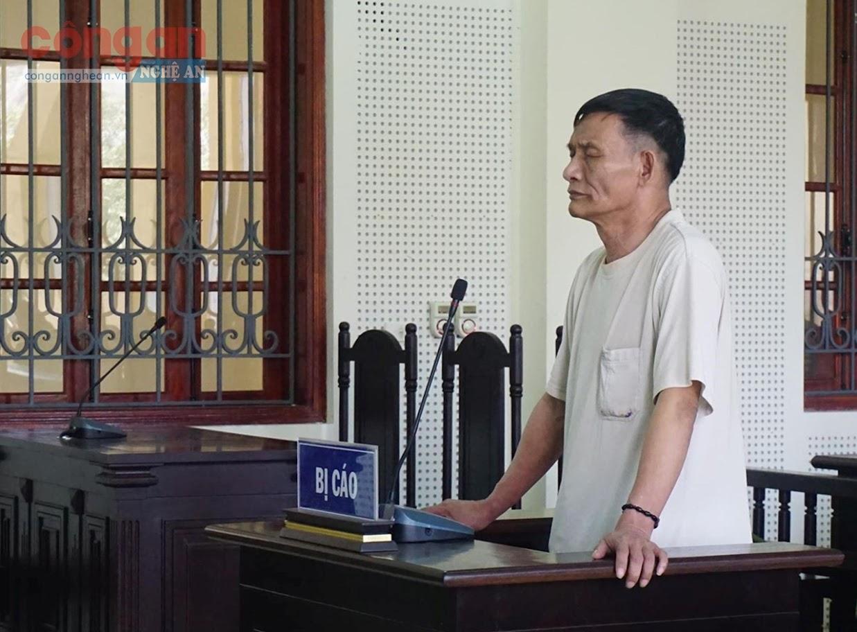 Bị cáo Nguyễn Thanh Bình tại phiên tòa
