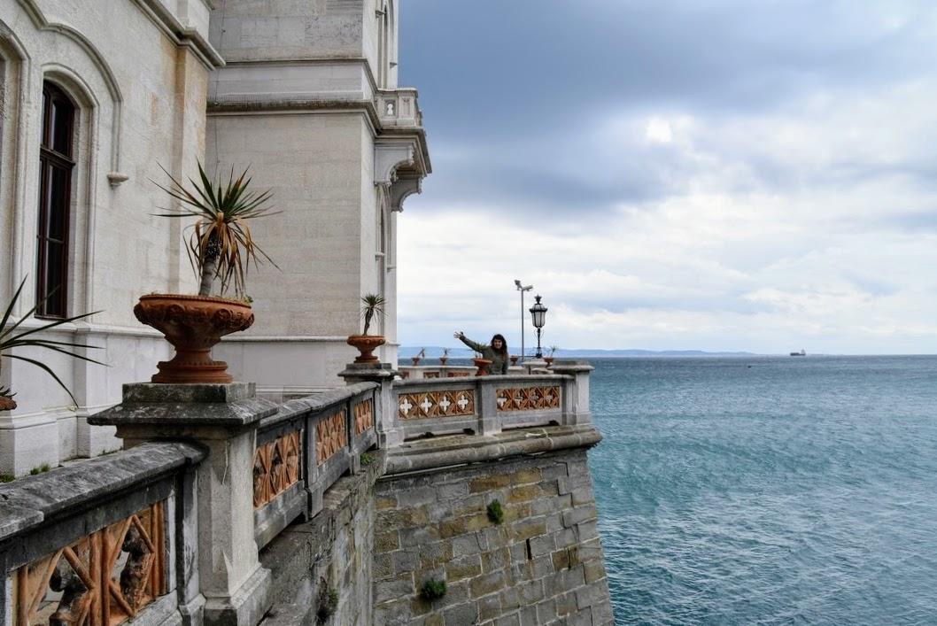 castillo Miramare Trieste