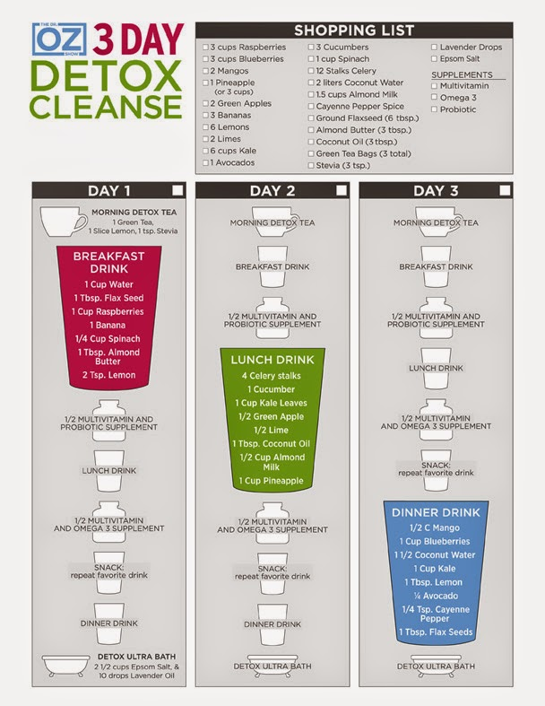 3-day cheat and grocery sheet