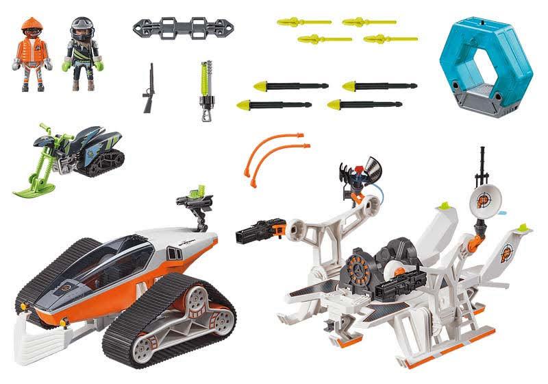 Contenido Real de Playmobil® 70230 SPY TEAM Comando de Nieve