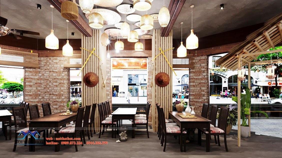 đèn trang trí nhà hàng