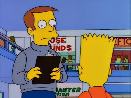 Los Simpsons 9x15 La última tentación de Krusty