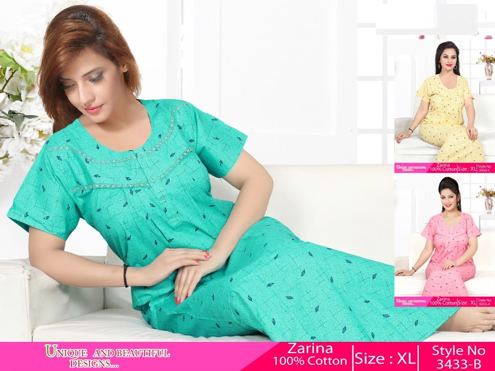 Kavyansika Zarina 3433 Branded Night Gowns Catalog Lowest Price