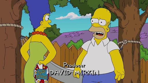 Los Simpsons 26x20 El abuelo piloto
