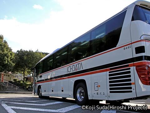 一畑バス「みこと号」 ・781_21 江の川PAにて_03
