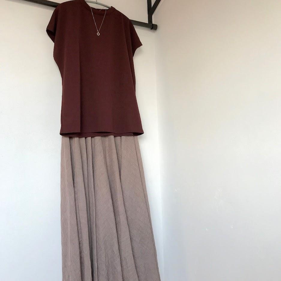 夏にむけてスカートのコディネート