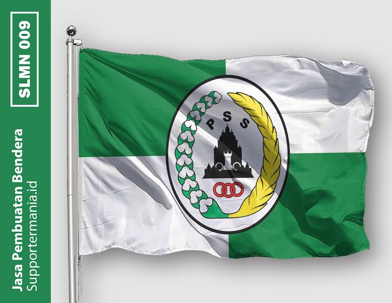 Desain Bendera atau Mini Flag PSS Sleman dan BCS 9