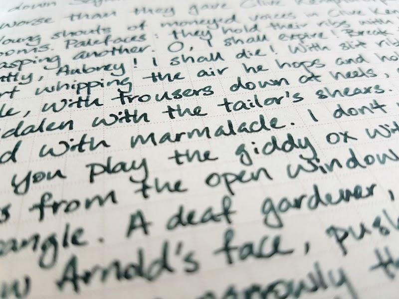 Writing sample of Van Dieman's Hailstorm on WORLD CRAFT Freiheit