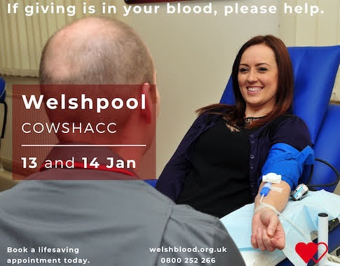 Urgent call for Welshpool blood donors