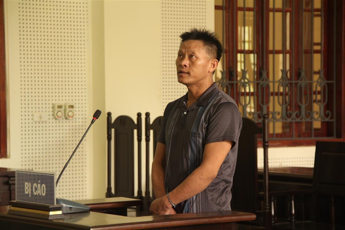 Bị cáo Thò Tồng Mùa tại tòa