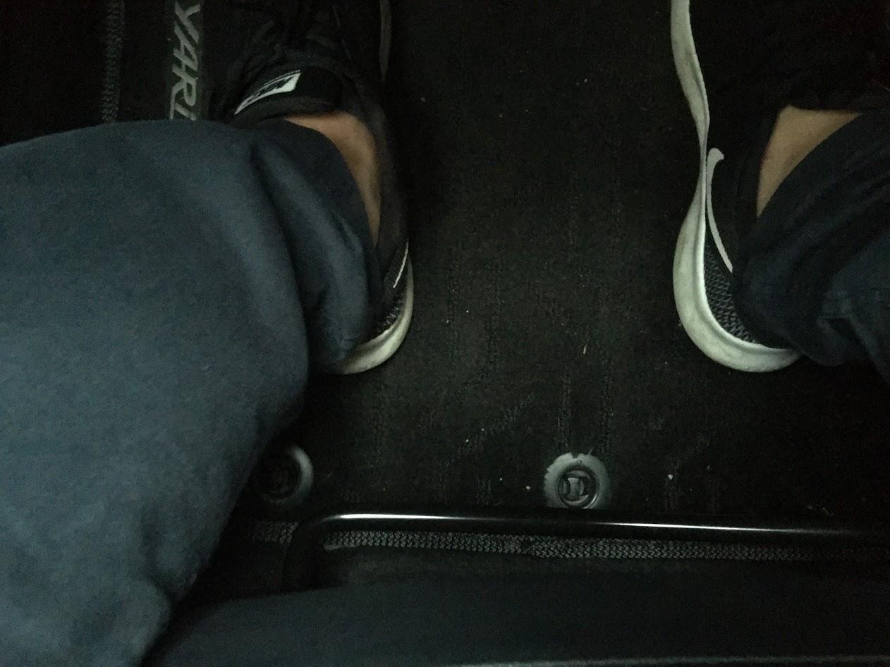 調整椅子前後位置