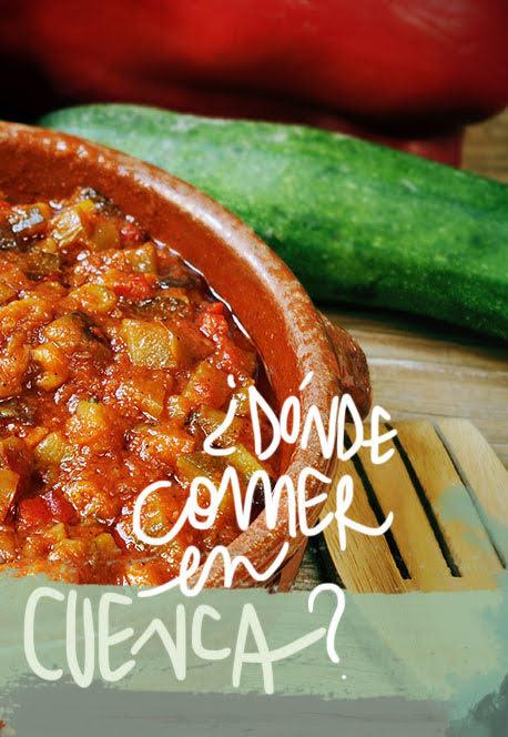 restaurantes donde comer en Cuenca