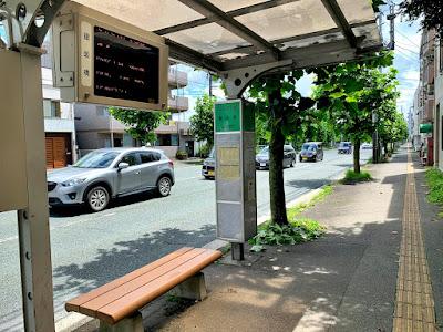 館坂橋バス停