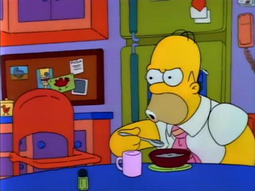 Los Simpsons 2x04 Dos autos en cada cochera Y tres ojos en cada pez